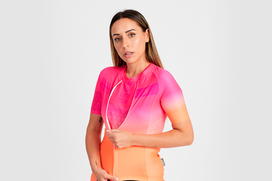 Maillot ciclismo mujer Voss Laser MT22